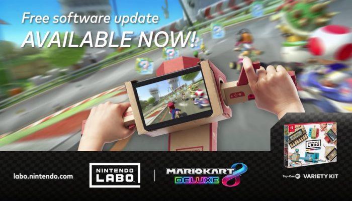 Nintendo Labo & Mario Kart 8 Deluxe – Now Compatible!