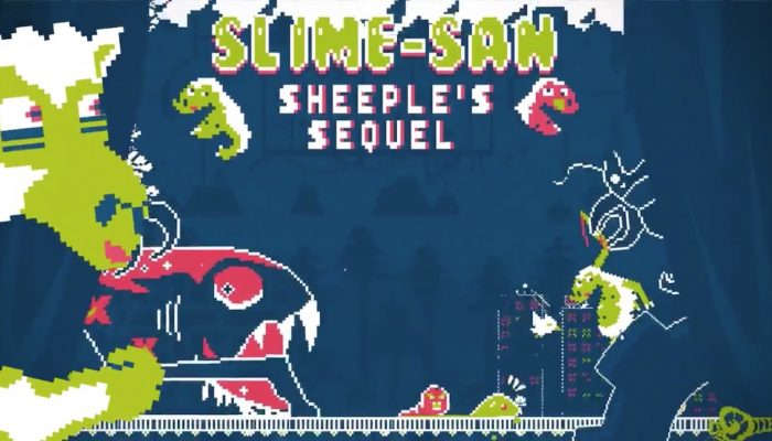 Slime-san's Sheeple's Sequel software update coming to Nintendo Switch on July 10