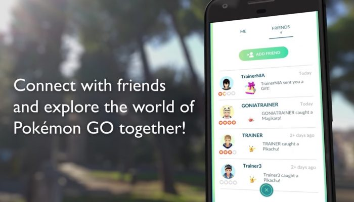 Pokémon Go – Making Friends and Trading Pokémon