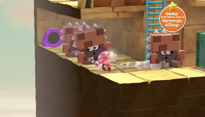 Captain Toad : Treasure Tracker – Publicité La chasse aux trésors est ouverte !