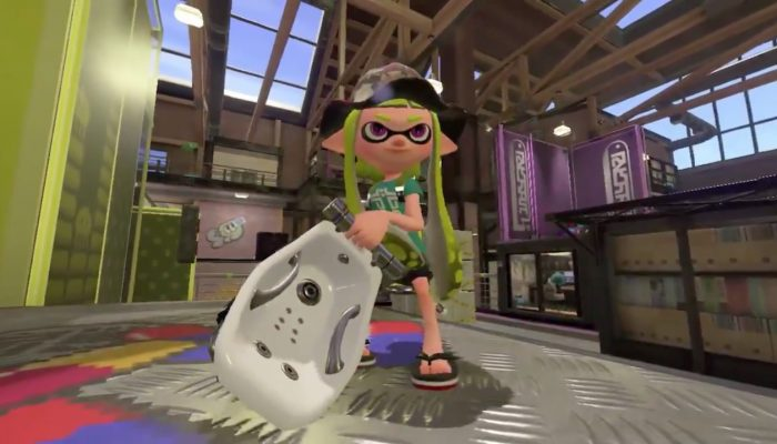 A look at the Bloblobber in Splatoon 2