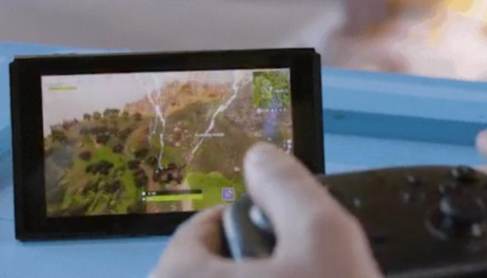 Here's what motion controls look like Fortnite on Nintendo Switch