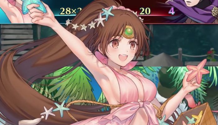 Fire Emblem Heroes – Special Heroes (A Sketchy Summer) Trailer