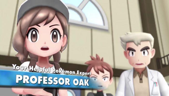 Pokémon: Let's Go, Pikachu! & Let's Go, Eevee! – Explore the World! Trailer