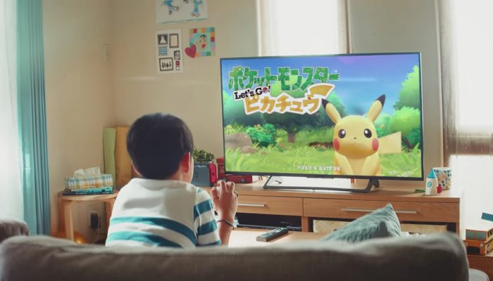 Pokémon: Let's Go, Pikachu! & Let's Go, Eevee! – First Japanese Commercial