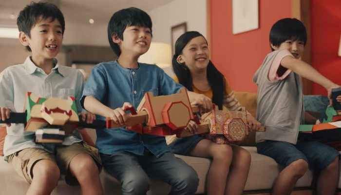 Nintendo Labo & Mario Kart 8 Deluxe – Japanese Collaboration Commercial