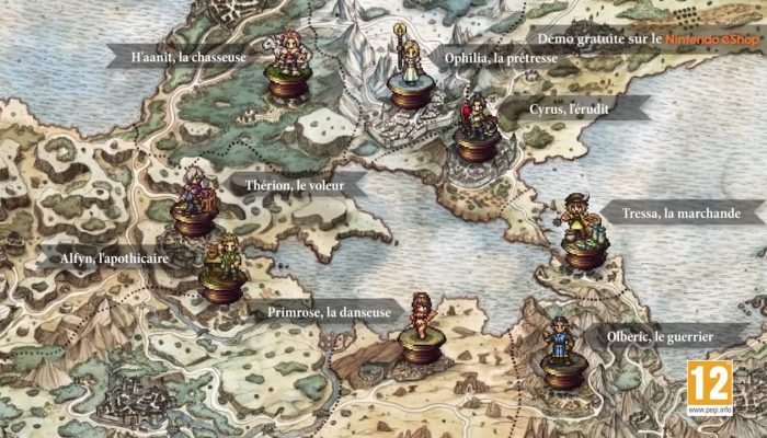 Octopath Traveler – Bande-annonce de présentation