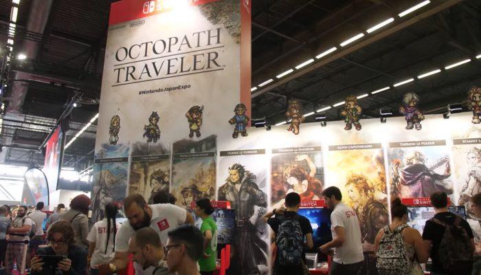 Octopath Traveler – Retours de joueurs à Japan Expo 2018