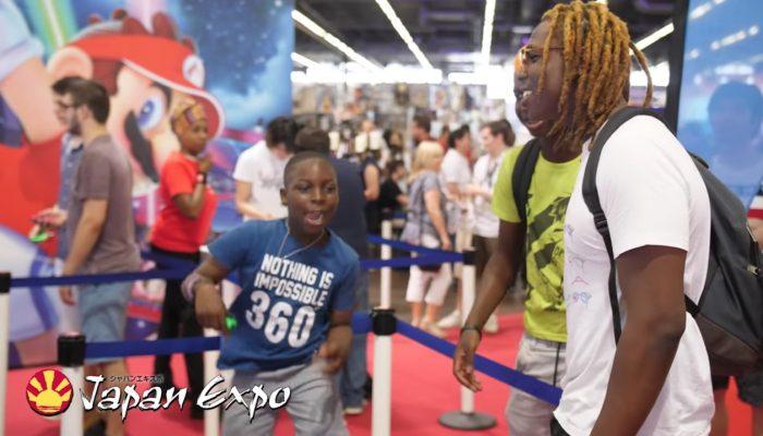 Mario Tennis Aces – Retours de joueurs à Japan Expo 2018
