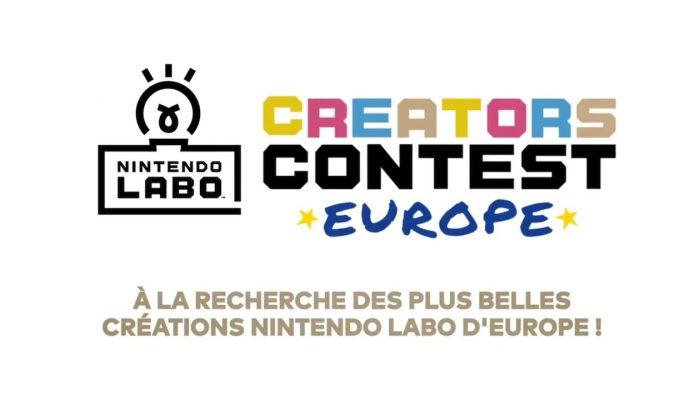 Nintendo France : 'Les inscriptions au concours Nintendo Labo Creators Contest sont désormais ouvertes !'