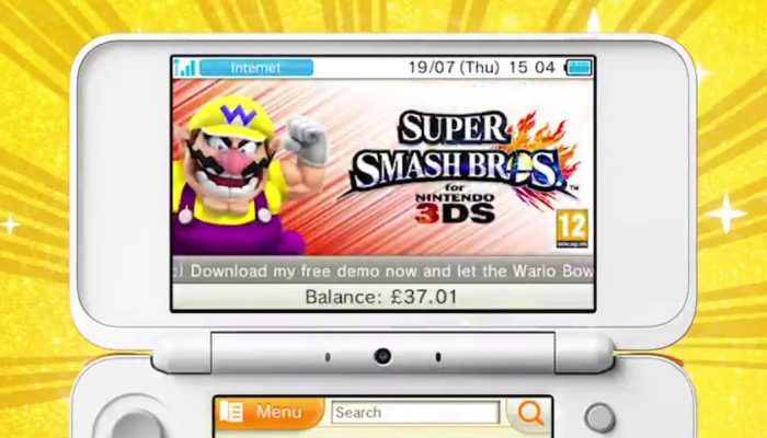 Wario took over the Nintendo 3DS eShop for WarioWare Gold