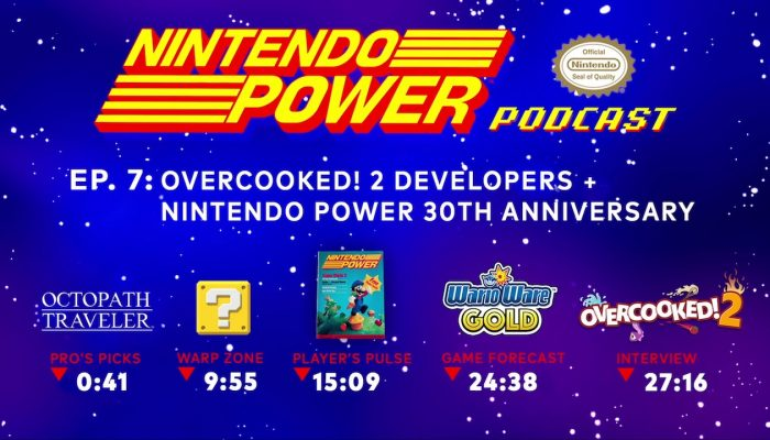 Nintendo Power Podcast Ep. 7 – Overcooked 2 Developers + Nintendo Power 30th Anniversary