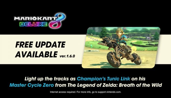 Mario Kart 8 Deluxe – Breath of the Wild Update Trailer