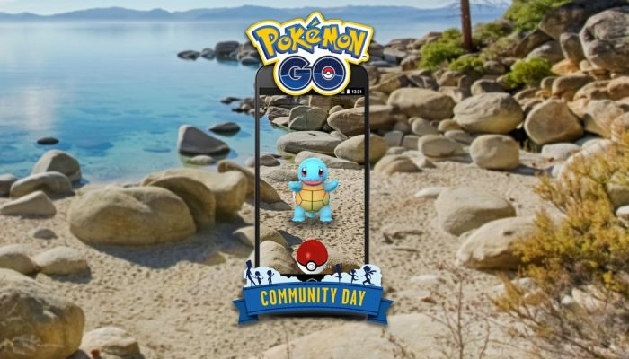Squirtle headlines July's Pokémon Go Community Day