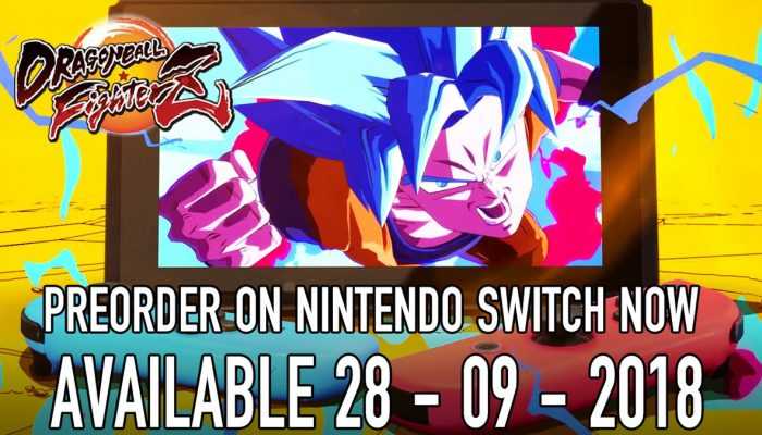 Dragon Ball FighterZ out September 28 on Nintendo Switch
