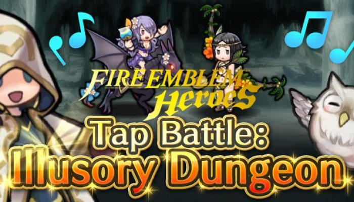 Tap Battle Illusory Dungeon Summer of Heroes in Fire Emblem Heroes