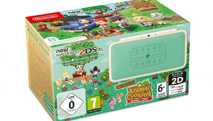 New Nintendo 2DS XL Animal Crossing Edition coming to Europe on July 20