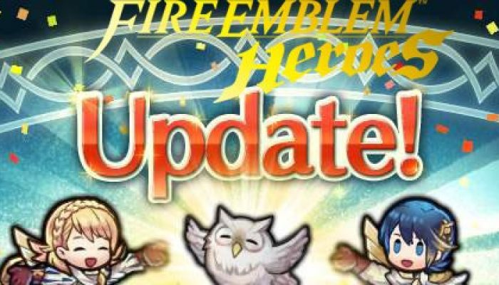Fire Emblem Heroes updated to Version 2.7.0