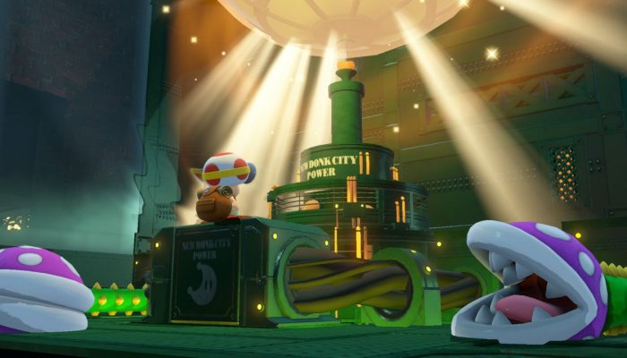 Here's the Metro Kingdom in Captain Toad Treasure Tracker