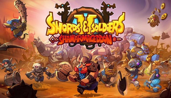 Swords & Soldiers II Shawarmageddon is coming to Nintendo Switch