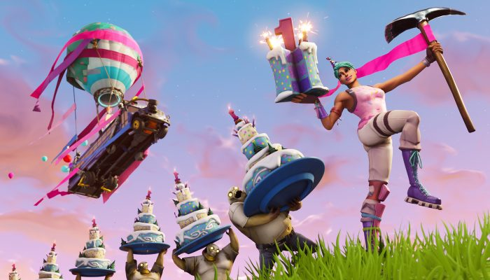 Fortnite: 'Fortnite's 1st Birthday Celebration'