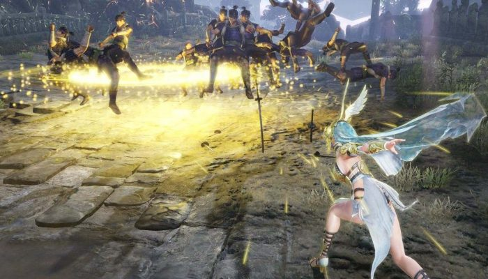 Warriors Orochi 4 – Athena and More Character Screenshots