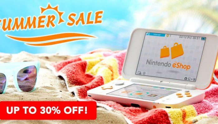 NoE: 'Nintendo eShop sale: Nintendo 3DS Summer Sale'