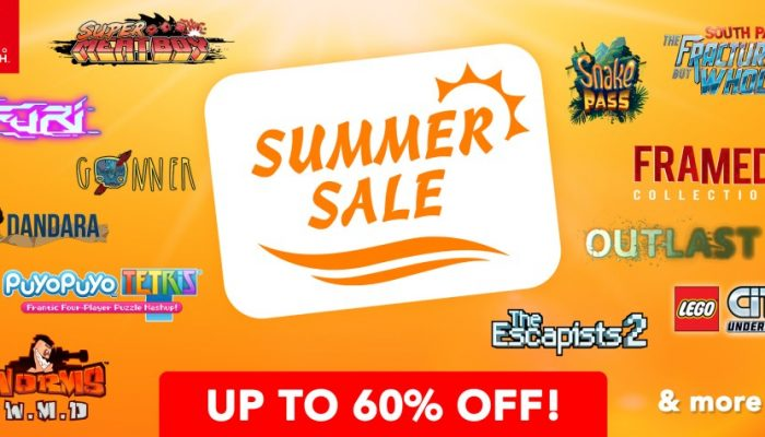 NoE: 'Nintendo eShop sale: Nintendo Switch Summer Sale'
