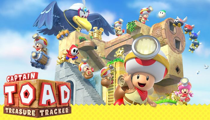 NoA: 'Ready for adventure? Captain Toad: Treasure Tracker is now available!'