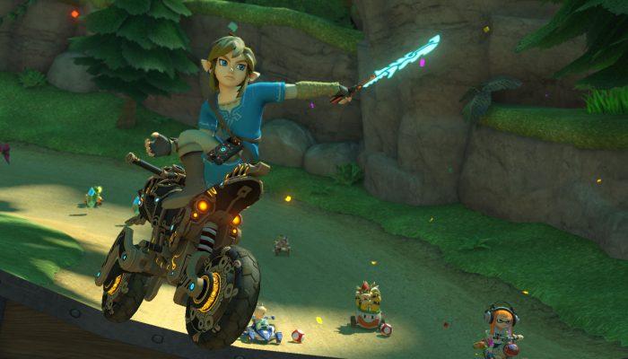 Nintendo France : 'Foncez sur le circuit comme un Prodige avec la nouvelle mise à jour de Mario Kart 8 Deluxe !'
