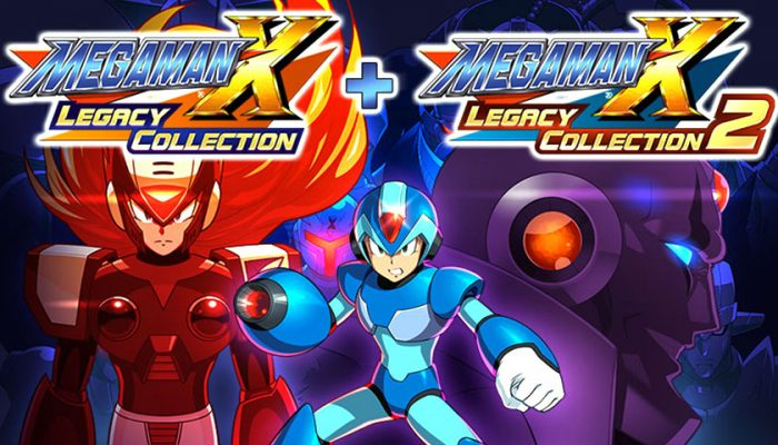 NoA: 'Mega Man X is back! Experience the Mega Man X saga with two exciting collections'