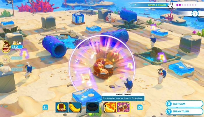 Ubisoft: 'Mario + Rabbids Kingdom Battle Donkey Kong Adventure Available Now'