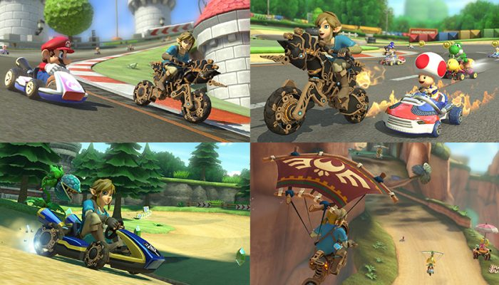 NoA: 'Play as Champion's Tunic Link in Mario Kart 8 Deluxe today!'