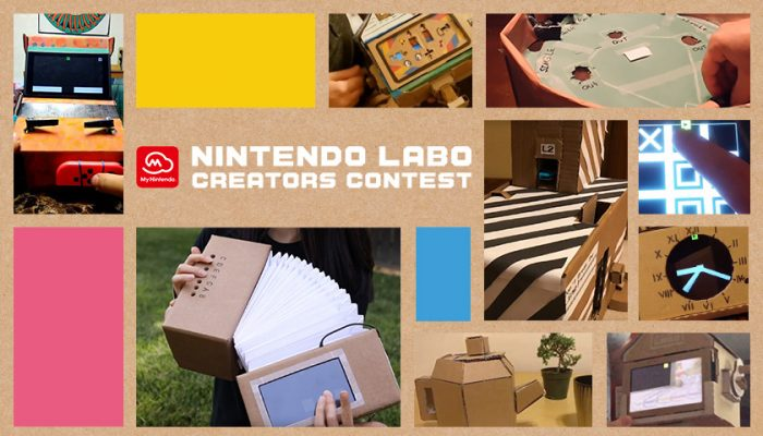 NoA: ' Nintendo Labo Creators Contest: New Winners Announced!'