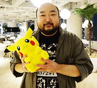 Pokémon Creator Profile Koji Nishino
