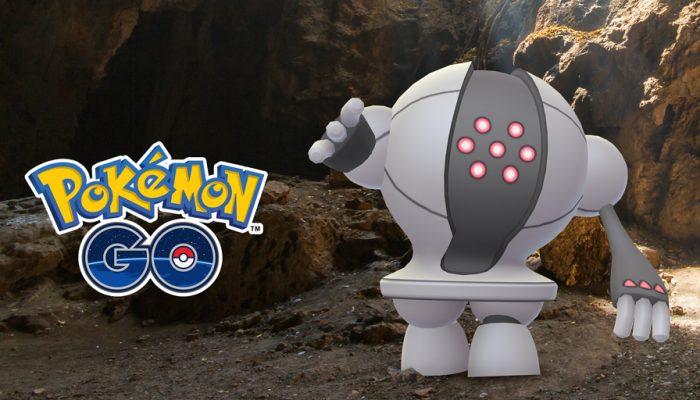 Niantic: 'The Legendary Pokémon Registeel Blasts into Pressure-Packed Raid Battles!'