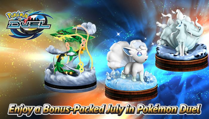 Pokémon: 'Enjoy a Bonus-Packed July in Pokémon Duel'