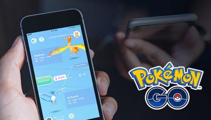 Pokémon: 'Friends, Trading, and Gifts Come to Pokémon Go!'