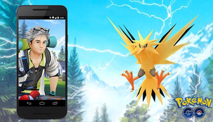 Pokémon: 'Hurry to Catch Zapdos in Pokémon Go'