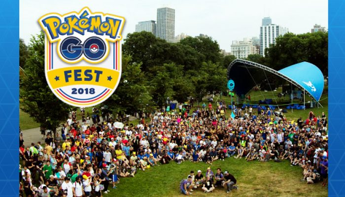 Pokémon: 'Great Times at Pokémon Go Fest!'