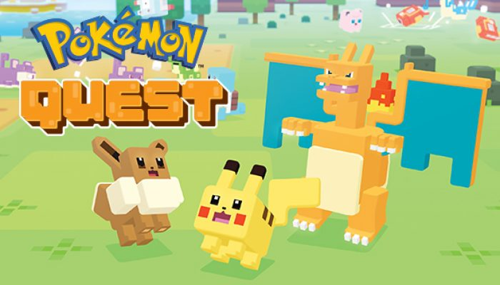 Pokémon: 'Pokémon Quest Arrives on Mobile!'