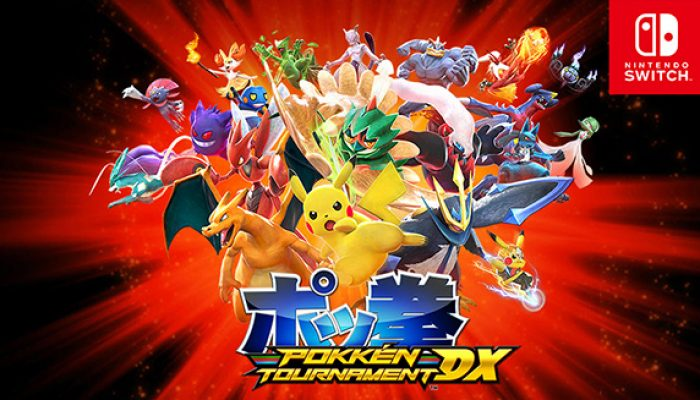Pokémon: 'Pokkén Tournament DX Update [July 2018]'