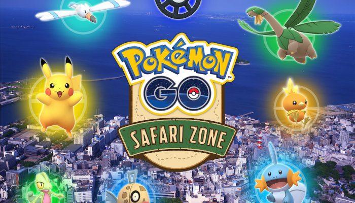 Niantic: 'Please join the Pokémon Go Safari Zone event in Yokosuka, Japan!'