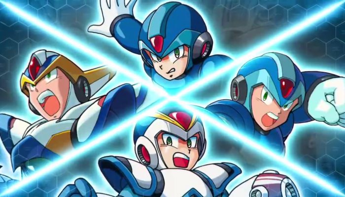 Mega Man X Legacy Collection 1 + 2 – Launch Trailer