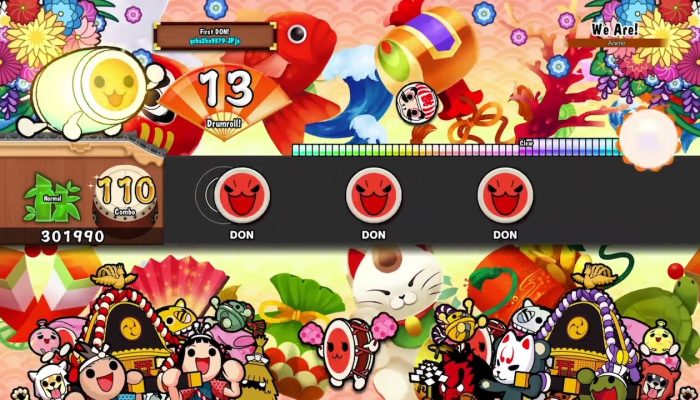 Taiko no Tatsujin: Drum 'n' Fun! – Announcement Trailer
