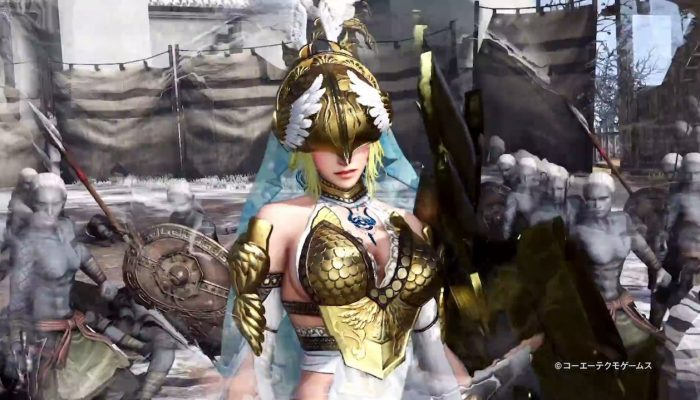 Warriors Orochi 4 – Japanese Athena Action Trailer