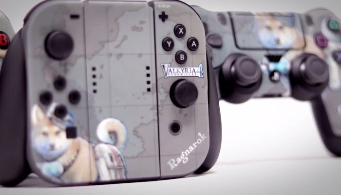 Valkyria Chronicles 4 – Controller Skin Showcase