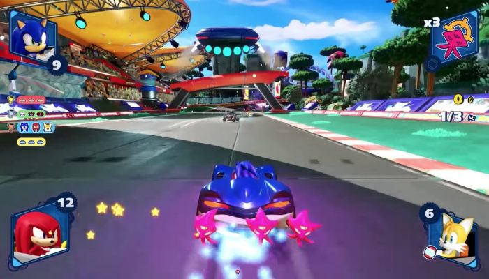 Team Sonic Racing – Team Gameplay Spotlight