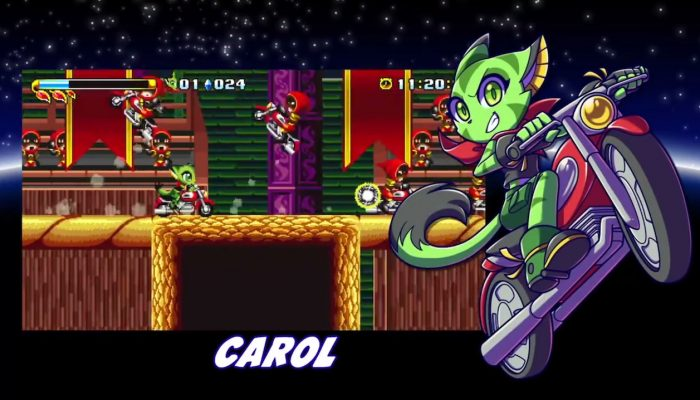 Freedom Planet – Nintendo Switch Launch Date Announcement Trailer