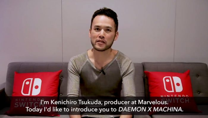 Kenichiro Tsukuda talks Daemon X Machina with Nintendo of America